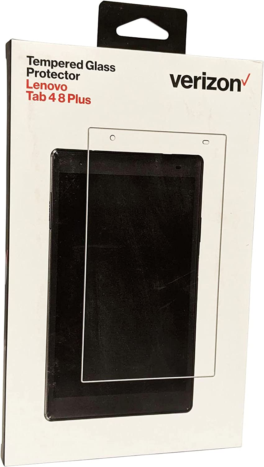 Verizon Tempered Glass Screen Display Protector for Lenovo Tab 4 8 Plus - Clear