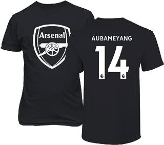 Tcamp Arsenal Shirt Pierre Emerick Aubameyang #14 Jersey Men's T-Shirt