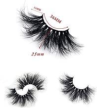 KING ARTHUR Siberian Mink Lash 25mm Dramatic Eyelash 25mm Dramatic Mink Lash for beautiful girl woman female