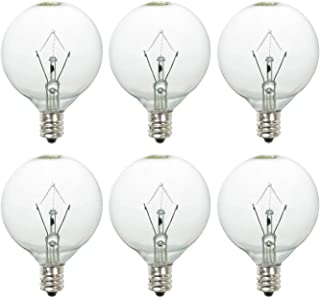 RunParts 25 Watt Wax Melt Warmer Light Bulb for Full-Size Scentsy Warmers & Candle Wax Melt Warmer,6 Pack Scentsy Warmer Bulbs,Extra Long Life