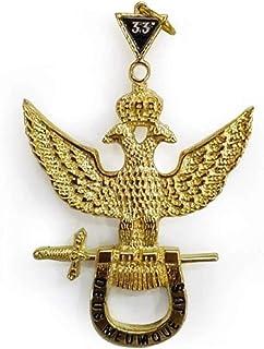Rite scozzese 33° grado Masonic Jewel - Wings Up