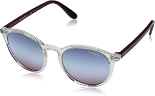 VOGUE Women's 0vo5215s Round Sunglasses transparent 51.0 mm