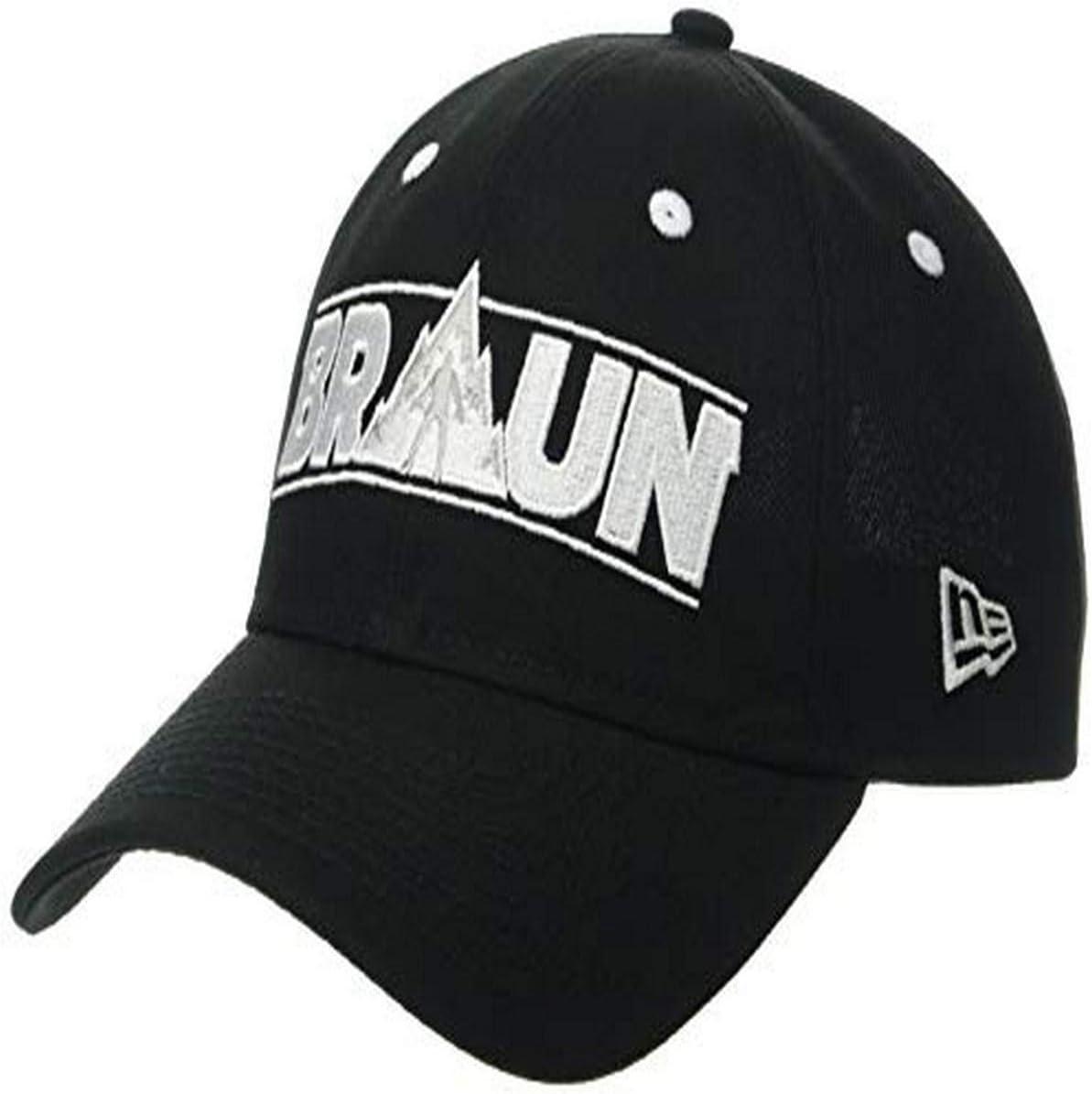 OSFM Black New Era X-Games Braun STROWMAN Unisex 920 WWE BRASTR Black