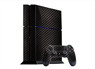 Sony PlayStation 4 Skin (PS4) - NEW - CARBON FIBER system skins faceplate decal mod