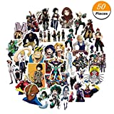 Saiifu Umwelt Mein Hero Academia Anime Cartoon Laptop Sticker Wasserfest Aufkleber Stoßfänger No-Duplicate Skateboard Pad Macbook Auto Snowboard Fahrrad Gepäck Dekor in Fine Style - 50PCS