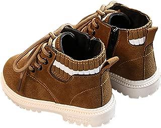 Hopscotch Baby Boys PU Lace Up Ankle Length Boots - Khaki