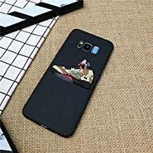 1 piece street 3D Jordan Shoes phone cover case for Samsung galaxy S6 S7 edge s8 s9 plus note 8 9 matte soft silicone coque funda capa