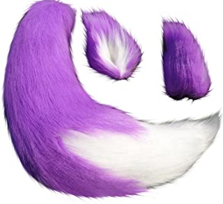 Best purple werewolf ears and tail Reviews