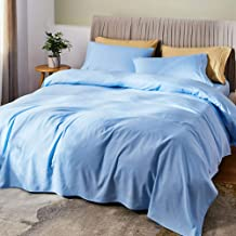 """SONORO KATE Bed Sheet Set Bamboo Sheets Deep Pockets 16"""" Eco Friendly Wrinkle Free Sheets Hypoallergenic Hotel Bedding Mac..."""