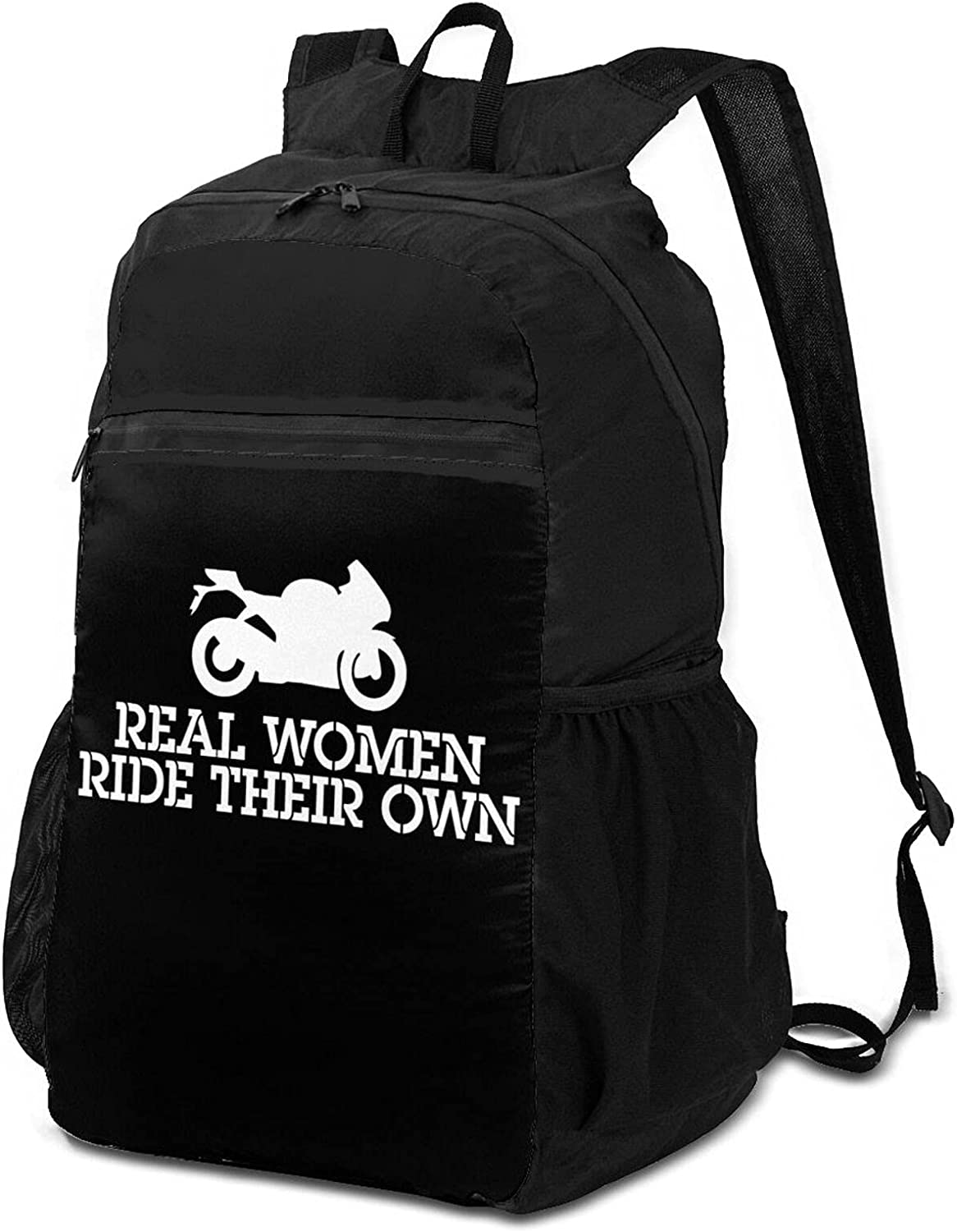 Real Women Limited time sale Ride Their Own Backpack Wome Over item handling Lightweight Packable for