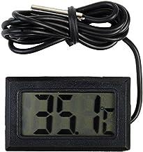 Lihouu Medidor de temperatura digital con sensor de
