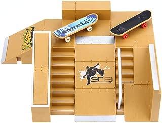 Skate Park Kit Ramp Parts Ultimate Sport Finger Skateboard Fingerboards Handrail Games Toy 5pcs
