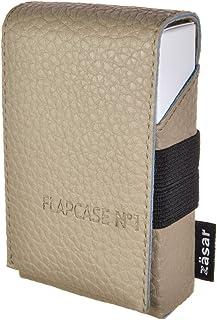 FlapCase N°1 GENTLE BEIGE– Portasigarette Premium dimensioni regolare (20 sigarette). Fatto a mano in Austria. Involucro d...