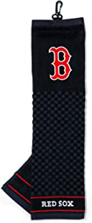 Team Golf MLB Embroidered Golf Towel, Checkered Scrubber Design, Embroidered Logo