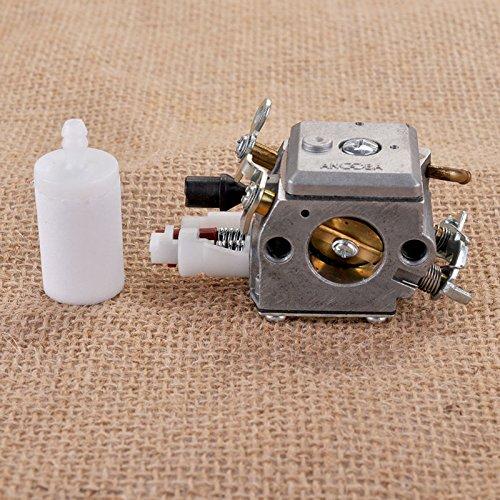 Carburateur & Brandstoffilter voor Husqvarna 340 345 350 351 353 Carbrador kettingzaag ZAMA Carb # 503283208 503 28 32-08