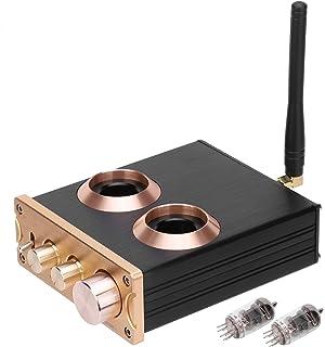 Wosune Pré-amplificador de tubo de áudio para casa com tubo de 12 V 6J1 para MP3 para telefone para TV para CD Player para...