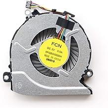 فن خنک کننده CPU لپ تاپ سازگار با لپ تاپ HP Pavilion 15-AB 15-an 17-G ، 15-AB100 15-AB273CA 15T-AB200 15-AN005TX 17-G101DX 17-G015DX 17-G179NB 17-G053US 17-G119DX لپ تاپ P / N: 812109-001