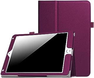 New iPad 9.7 Inch 2018/2017 / iPad Air 2 / iPad Air Case - [Corner Protection] Premium PU Leather Folio Smart Cover w/Auto Sleep/Wake for iPad 9.7 in 2017 Release, iPad Air 1 2(Purple)