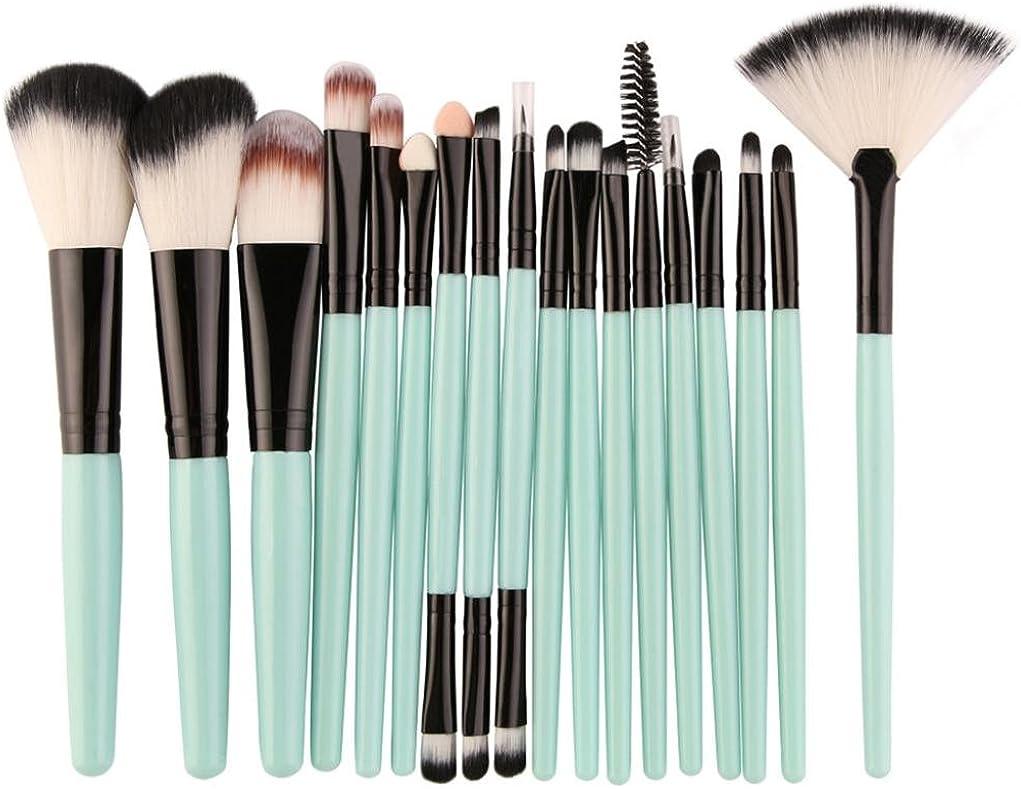 Goddessvan Makeup Brushes 18 Pieces Set Brush Toi Make-up 4 years Columbus Mall warranty