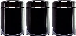 MIRON Violettglas Ultraviolet Storage Container, Airtight Smell Proof Screw Top Jar, 250 ml