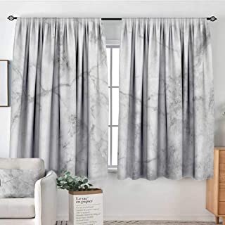 Marble Window Curtain Drape Fractured Lines Stained Grunge Surface Effects Ceramic Style Background Artful Motif Decor Curtains by 72