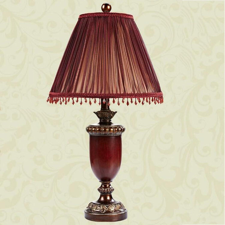 Europäische Tischlampe Schlafzimmer Bett Hochzeit Hochzeit Tischlampe retro Lampen B073NMHZLN     | Umweltfreundlich