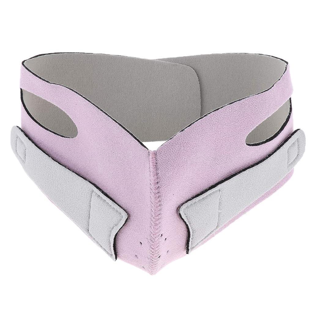 スパンフットボールカカドゥD DOLITY 引き上げマスク 頬リフトアップ V-ラインマスク リフティング リフトスリムマスク 通気性 全2色 - ピンク