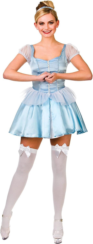 LADIES Blau CUTE CINDERS FANCY DRESS COSTUME B00NGKXEYU Verkaufspreis  | Bekannt für seine schöne Qualität