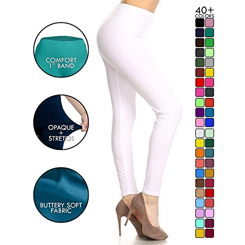326e90e5 Leggings Depot High Waisted Leggings -Soft & Slim - More Colors & 1000+  Prints