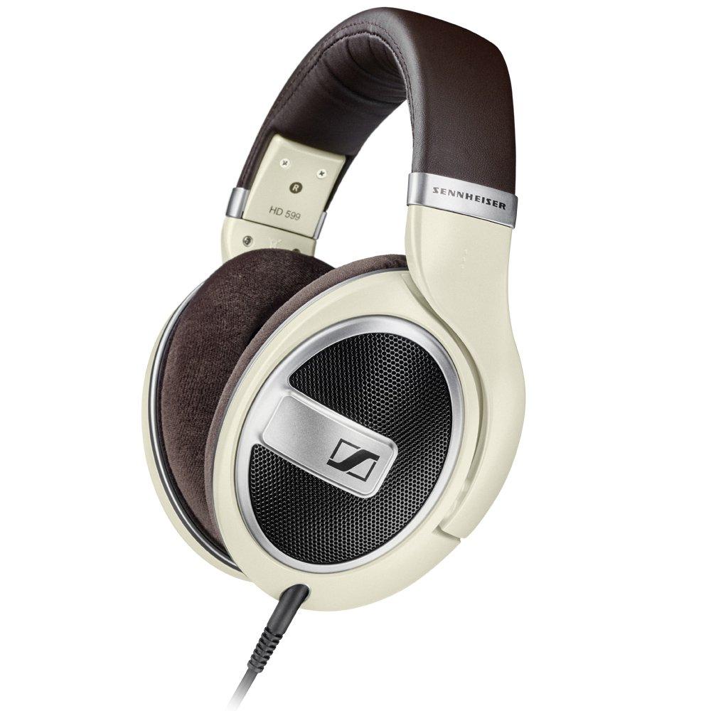 젠하이저 HD599 오픈형 헤드폰 - 블랙, 아이보리 Sennheiser HD 599 Open Back Headphone