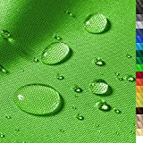1buy3 'Discovery Wasserdichter Polyester Stoff | 3040 mm Wassersäule | Farbe 11 | Apfelgrün | Polyester Stoff 160cm breit Meterware wasserdicht Outdoor extrem reissfest