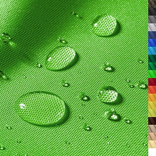 """1buy3 \""""Monaco Wasserdichter Polyester Stoff   12.000 mm Wassersäule   Farbe 11   Apfelgrün   Polyester Stoff 160cm breit Meterware wasserdicht Outdoor extrem reissfest"""