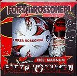 Pallone da Calcio n.5 con Uovo di Pasqua da 150gr. Forza ROSSONERI