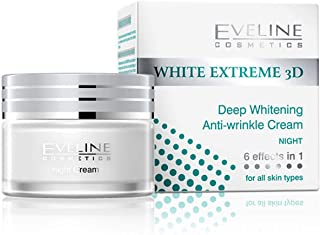 EVELINE WHITE EXTREME 3D DEEP WHITENING NIGHT CREAM 50 ML