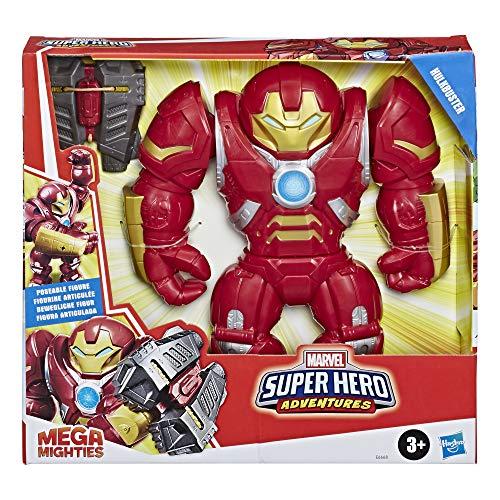 Hasbro Marvel Legends Super Hero Adventures - Hulkbuster (Playskool Heroes Super Hero Adventures Mega Mighties, Action Figure da 30 cm)