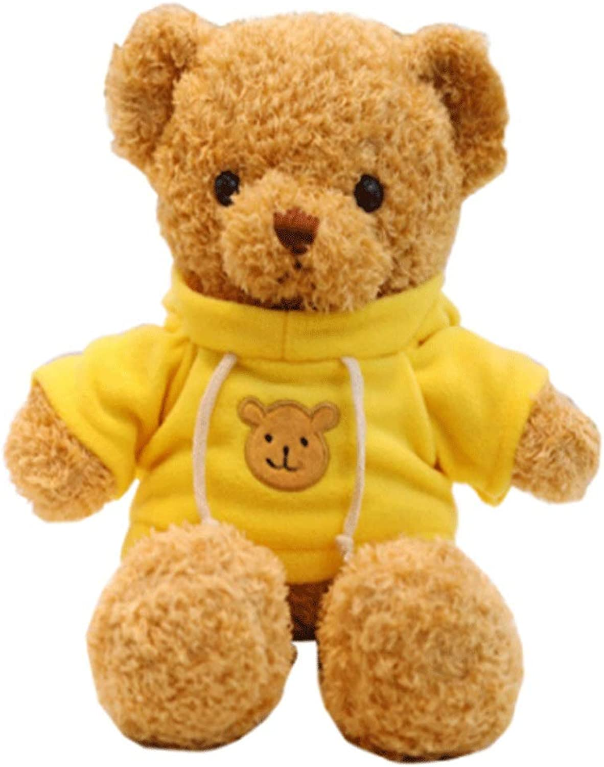 Hengtongtongxun Plush Toys, Teddy Bear Dolls, Doll Plush Toys, Birthday Gifts, Various Sizes and colors, Best Gifts Latest Models (color   Yellow, Size   38cm)