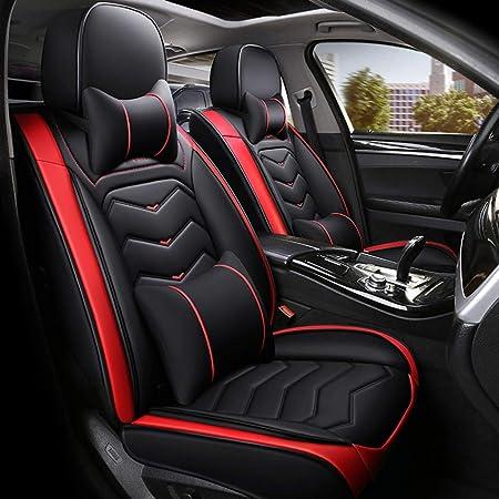 Auto Sitzbezüge Universal Autositzbezüge 5 Sitze Full Set Leder Sport Style For Bmw F10 F11 F15