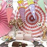 Oblique Unique® Zuckertüte Konfetti 12 Stk. Zuckertüten Schultüten Tisch Dekoration Streu Deko Schuleinführung Einschulung Schulanfang Jungen Mädchen - 4