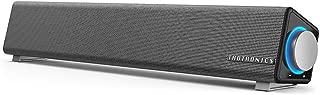 PC スピーカー TaoTronics ステレオ USB サウンドバー 小型 大音量 高音質 (マイク端子とヘッドホン端子付、高い互換性) USB給電 AUX接続 テレビ/パソコン/スマホ 対応 TT-SK018