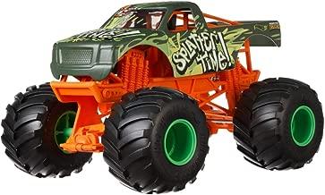 Hot Wheels Splatter Time Monster Truck, 1:24 Scale