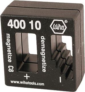 Wiha 40010 Magnetizer/Demagnetizer, 2.1 in x 2 in x 1.1 in, Green