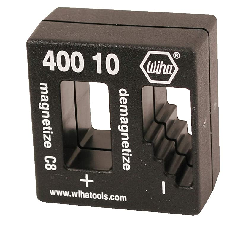 Wiha 40010 Magnetizer or Demagnetizer, Color may vary