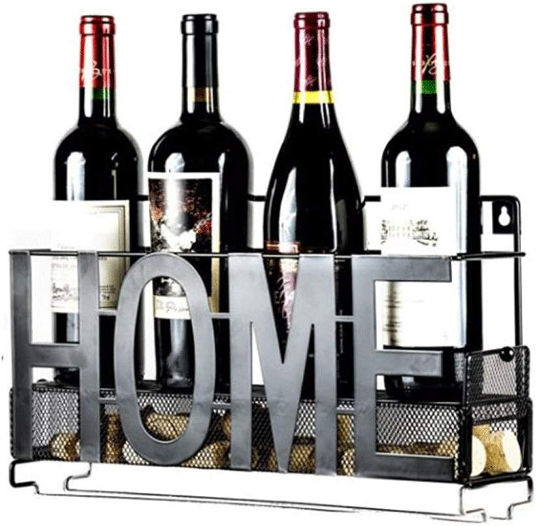 Wine Rack Creative Home Wine Rack Bar Hanging Wine Rack Holder Wall Hanging Wine Glass Rack Upside Down Goblet Rack Home Decoration