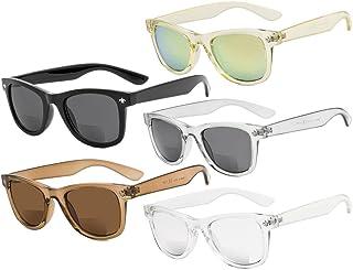 2e71af1083 Eyekepper Clásico Bifocales Gafas De Sol Para Mujeres 5 Paquete Mix color  +2.50