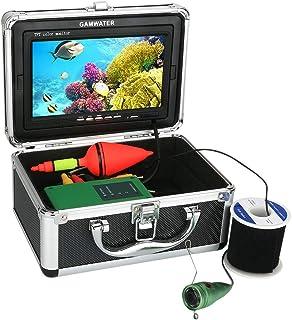 GRXXX Finder de Peces bajo el Agua Pantalla de Color TFT de 7 Pulgadas Pantalla DVR Función HD Cámara bajo el Agua 1000 TV...