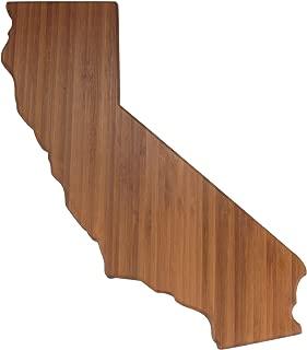BambooMN Brand - California Silhouette Cutting Board - Flight Rack Size - 2 Units