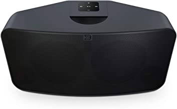 Bluesound Pulse 2i Wireless Multi-Room Smart Speaker with Bluetooth - Black - Compatible with Alexa and Siri