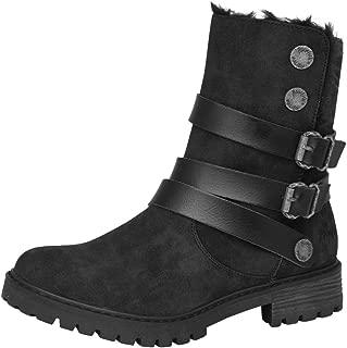 Women's Radiki SHR Casual Boot Black 10 Medium US