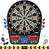 Viper 850 Electronic Dartboard, Ultra Bright Triple Score Display, 50...