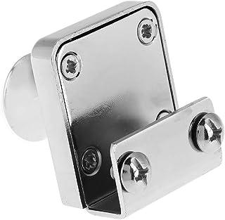 ワードローブキャビネット引き出しロック食器棚デスクショーケースロック鍵付きロック掛け金掛け亜鉛合金キャビネットキーでロックキーで安全性とセキュリティを守ります